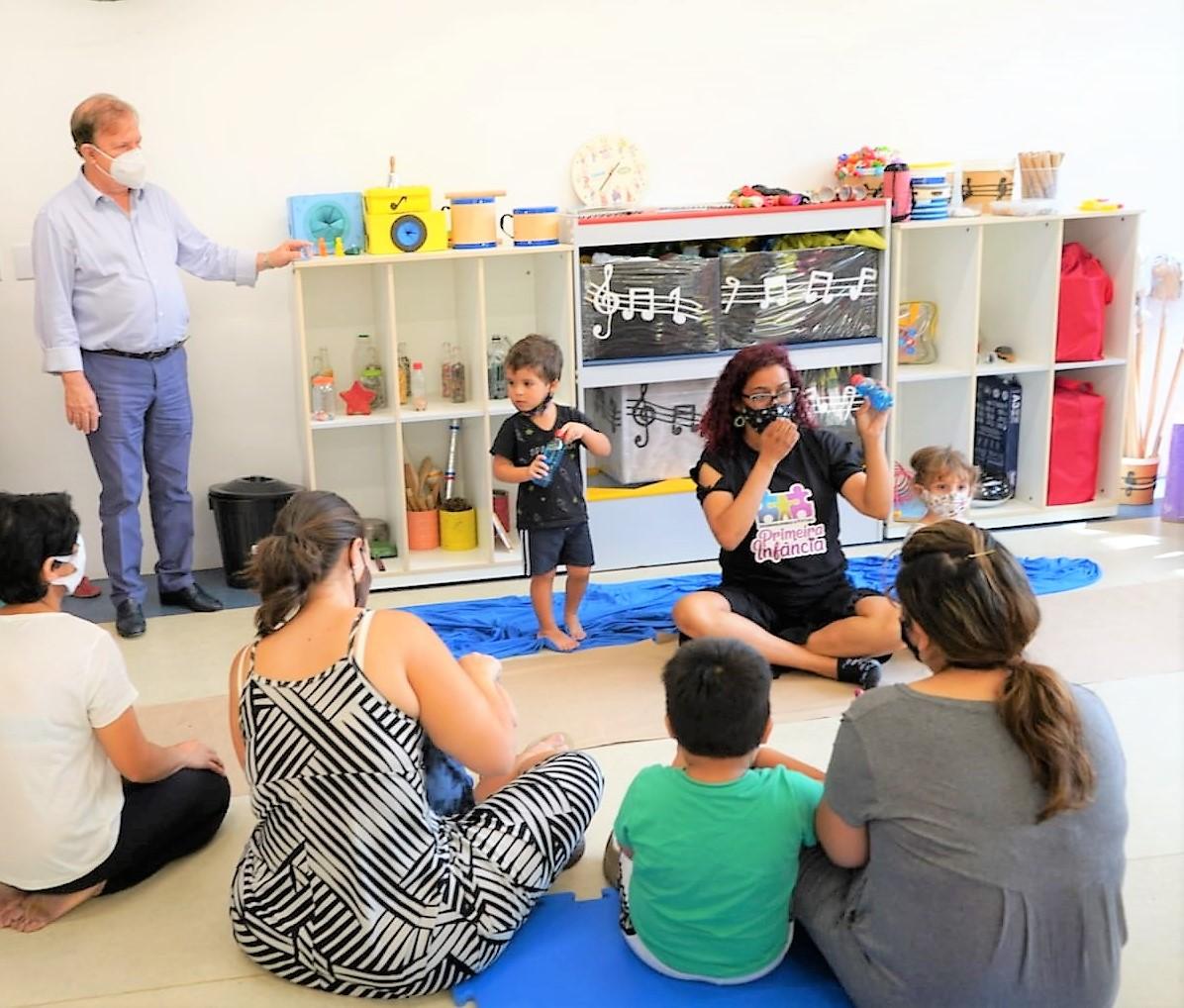 Sábado tem inauguração em dose dupla: Emei Seu Zequinha e o Centro da Primeira Infância